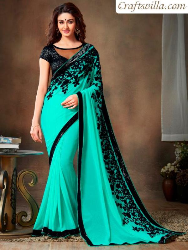 Best Offer For Diwali Collection.  - by JANU DESIGNER SAREES, Chennai