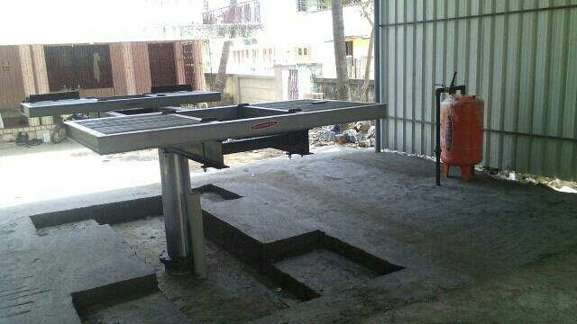 car washer ramp butterfly type - by AAA Auto Equipment Service Contact Us : 9884483597, Chennai
