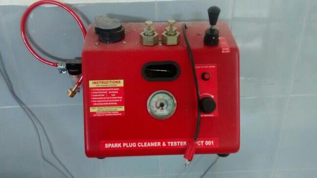 spark plug cleaner cum tester  sale & service
