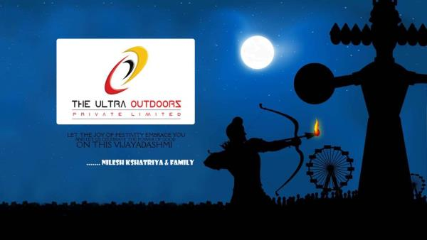 Wish you a very happy Dashehara  - by The Ultra Outdoors Pvt. ltd., Aurangabad