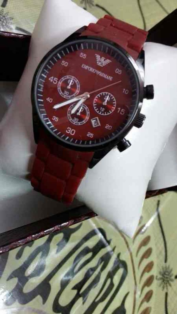 EMPORIO ARMANI WATCH FOR MENS   CONTACT FOR WHOLESALE AND RETAIL PRICE :- 91-9654571571 - by Classic Eyewear, Delhi