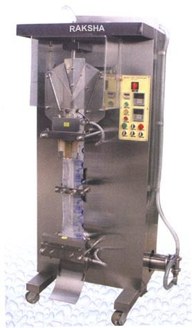 We offer water pouch packing machines.  To buy click on the company logo above or visit us at www.rakshapackaging.com - by Raksha Packaging, Faridabad