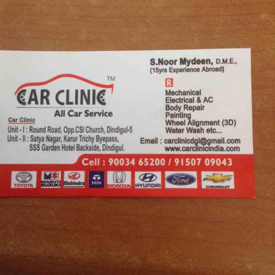 Car Clinic Service