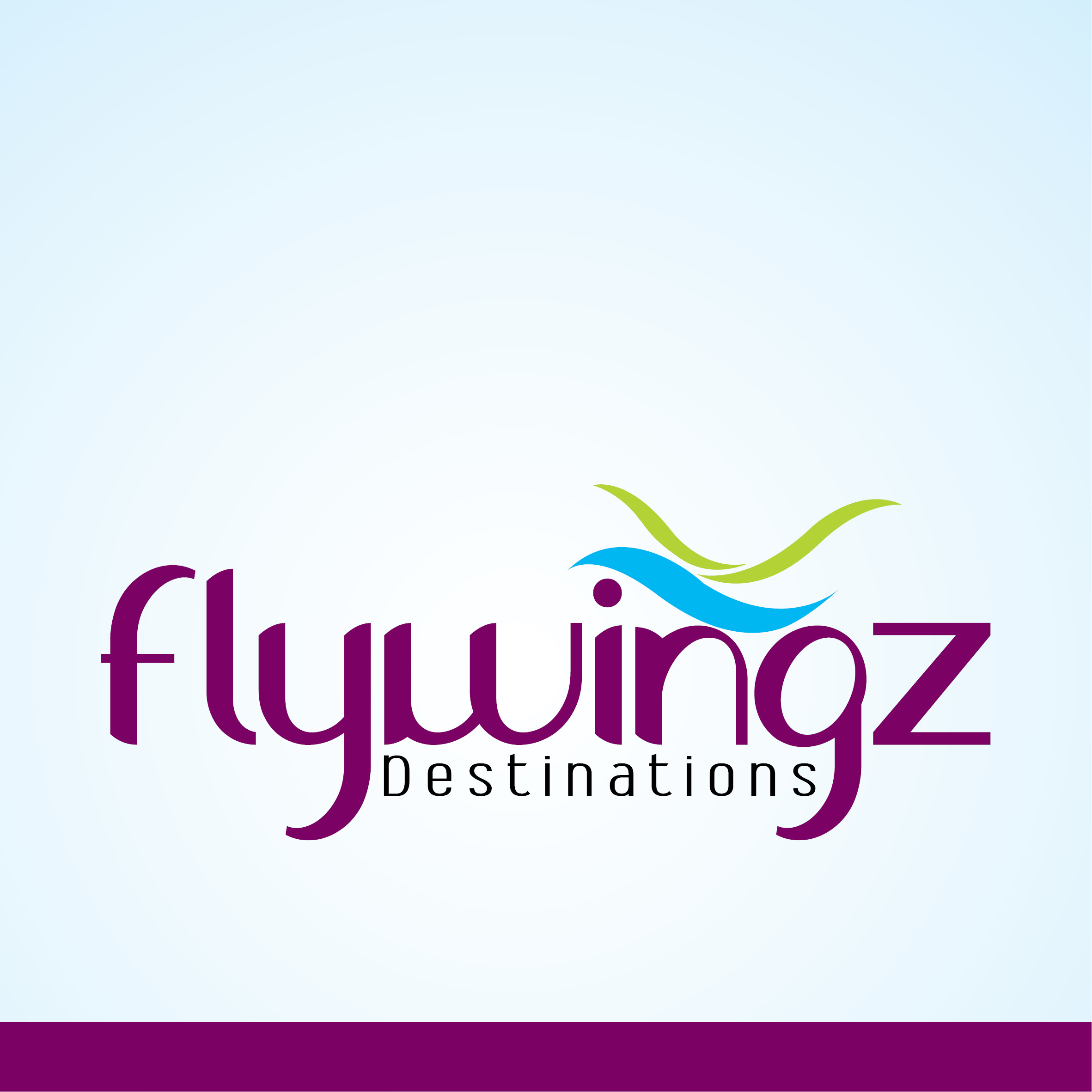 Flywingz Destinations - logo