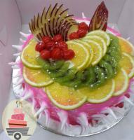 Fathers Day Fresh Fruit Cake