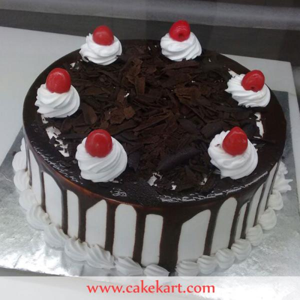 Fathers Day BlackForest Cake