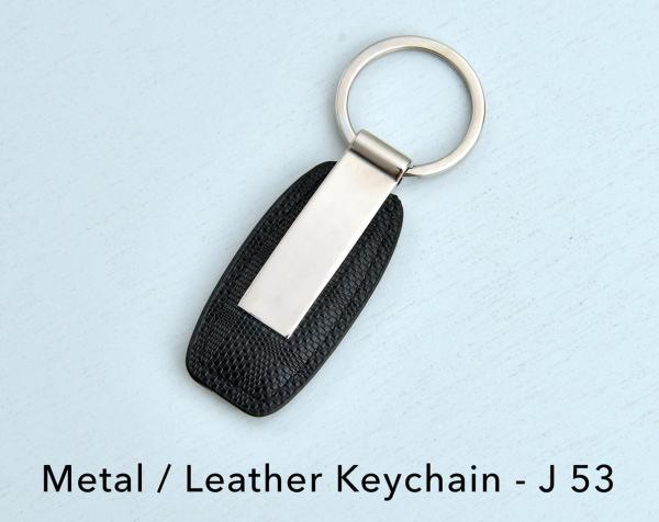 Dizinario Metal Leather Keychain - MEEJ531516