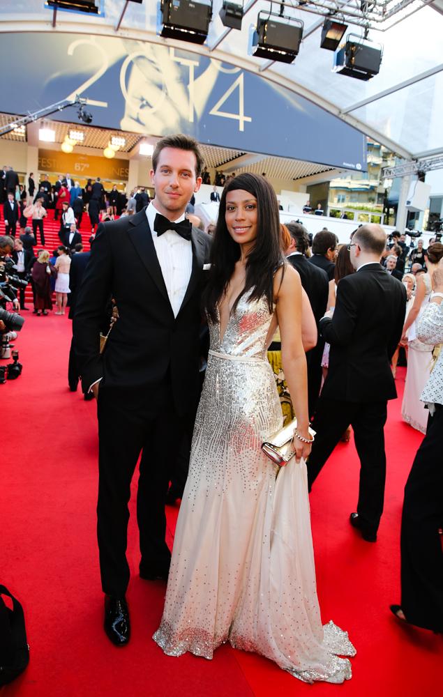 Florine Eppe Beauloye digital luxury entrepreneur red carpet Cannes Festival
