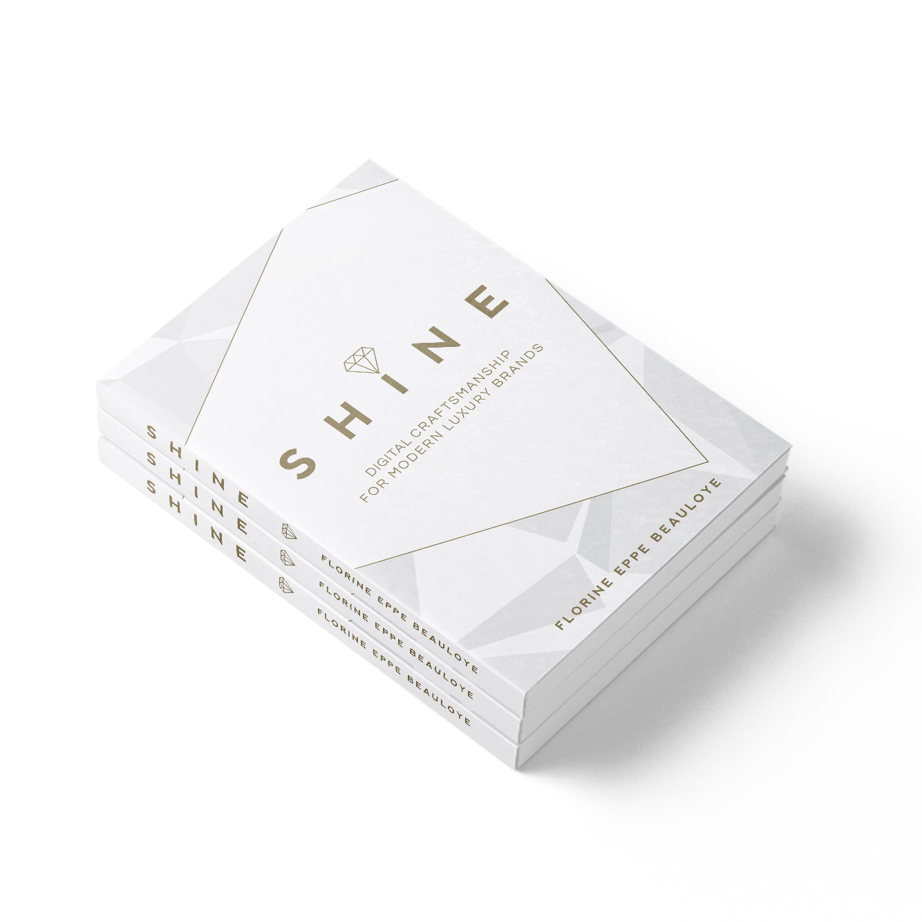 Shine digital craftsmanship modern luxury book Florine Eppe Beauloye