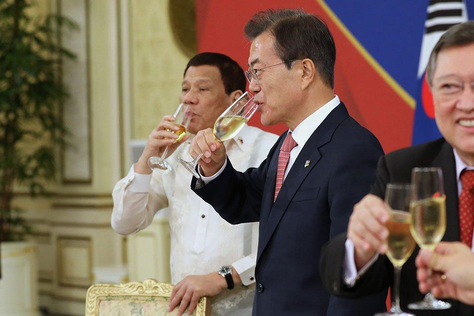 菲律賓得到韓過金援50億美元