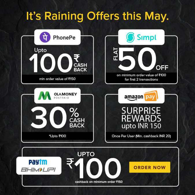 IT'S  RAINING OFFER THIS MAY