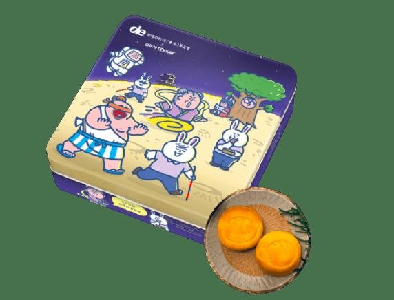 中秋節 月餅盒設計 插畫家 產品包裝設計