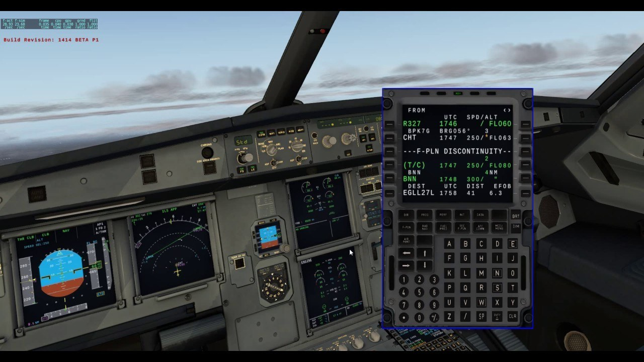 FF A320 Ultra Autoland