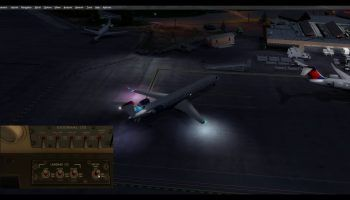 Aerosoft CRJ External Lights Demo