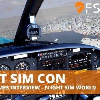 FSElite Flight Sim Con Dovetail Games Interview Flight Sim World