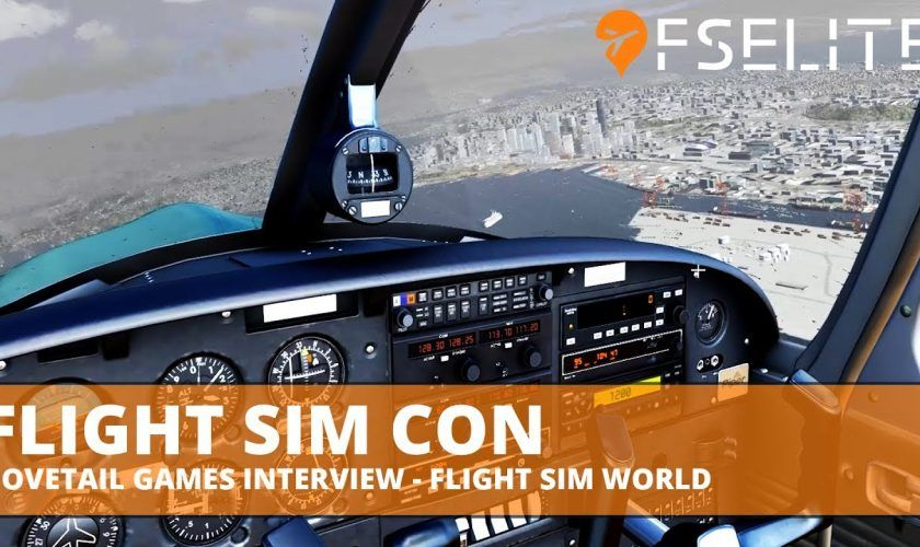 FSElite Flight Sim Con Dovetail Games Interview Flight Sim World