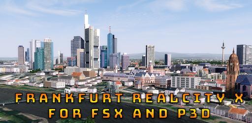 Frankfurt RealCity X logo