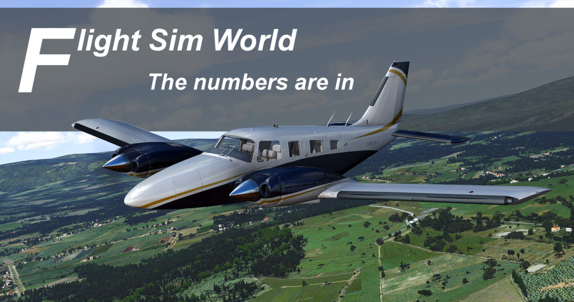 Flight Sim World Numbers cover 1