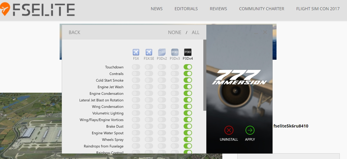 UPDATE: FSFX Packages 777 Immersion Released For P3D V4 – FSElite