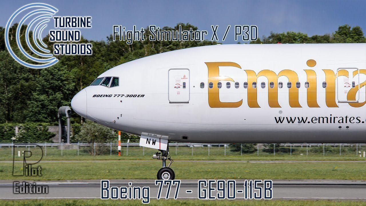 TSS 777 GE90 115B Pilot Edition FSX P3D