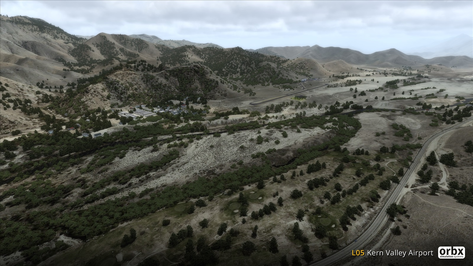 Orbx L05 Kern Valley P3d 1