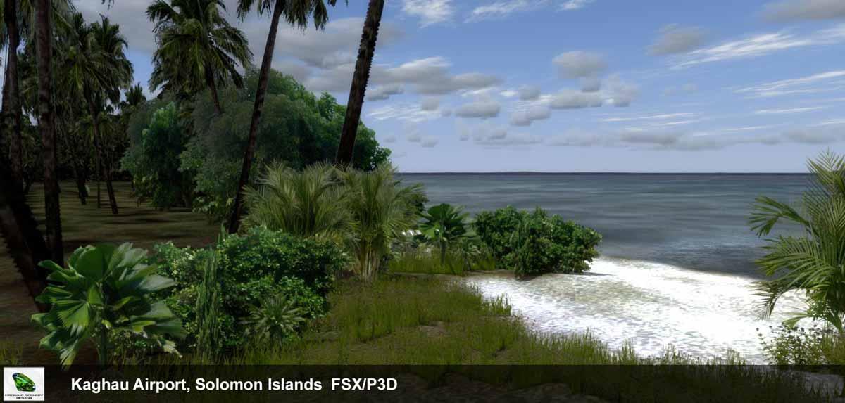 Emerald Scenery Design Kaghau, Solomon Islands P3D V4 Support – FSElite