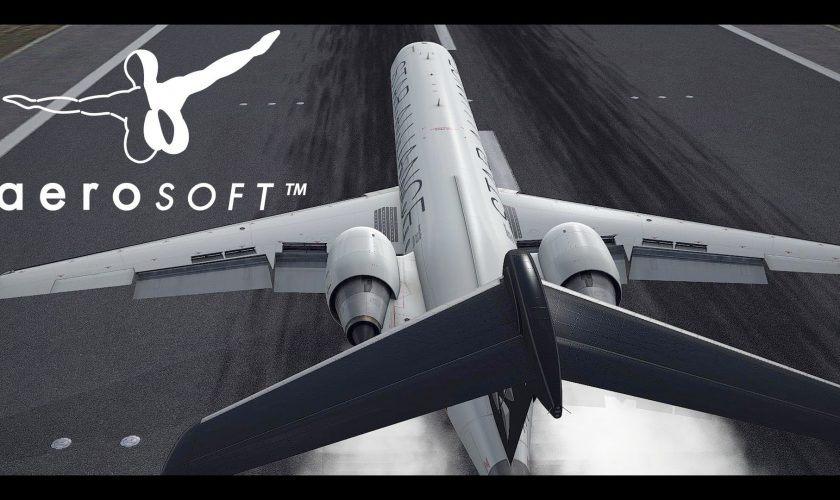 Aerosoft Official Digital Aviation CRJ Video