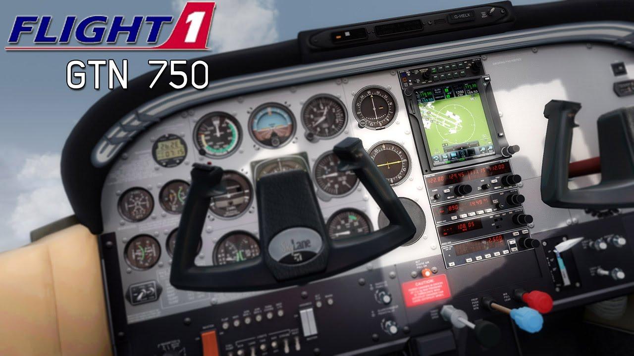 Flight1 Garmin GTN 750 GPS Review And Tutorial FSXFSXSEP3D