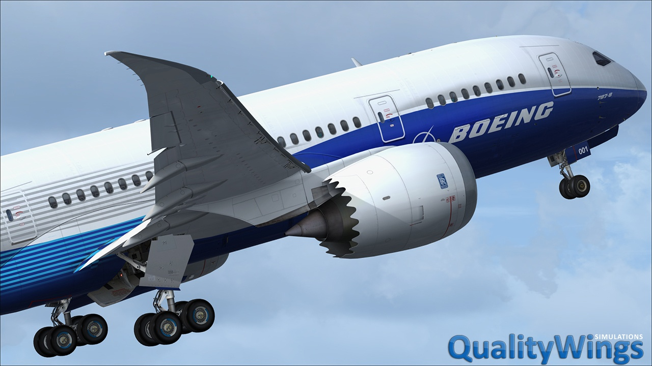 QualityWings Simulations Q42017 Update – 787, 757 and More