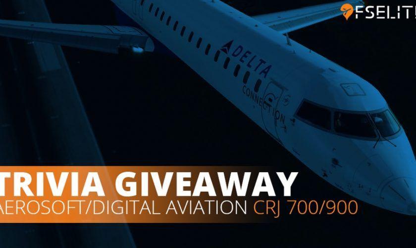 Win A Crj Aerosoft P3dv4