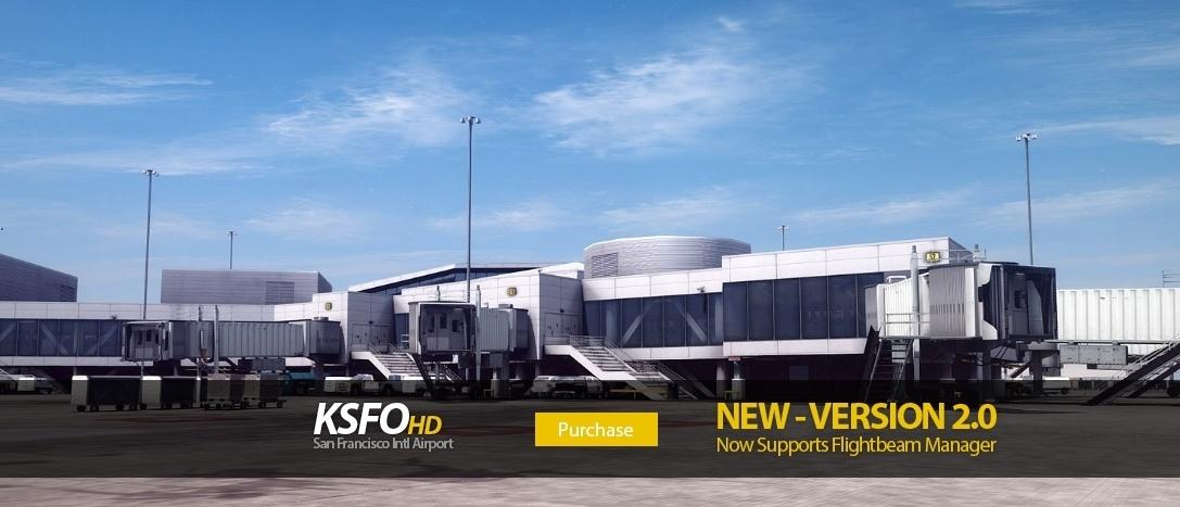 Flightbeam Releases KSFOHD Version 2 – Free Update – FSElite