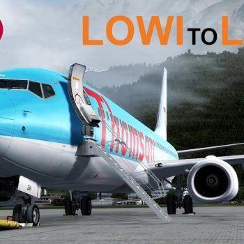 Prepar3D V4 In The Clouds LOWI To LEPA PMDG 737 800 NGX