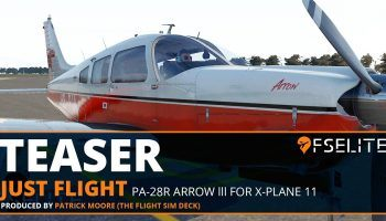 Teaser PA 28R Arrow Lll For X Plane 11