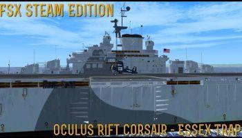 FSX SE Oculus Rift Corsair Essex Trap