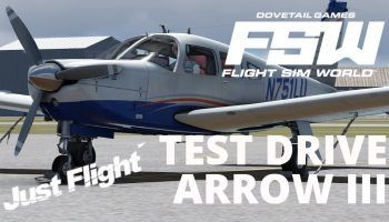 FSW Test Drive Compare Just Flight Arrow III In Flight Sim World
