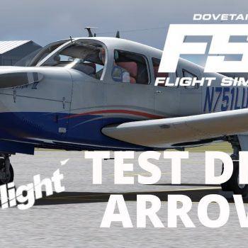 FSW Test Drive Compare Just Flight Arrow III In Flight Sim World