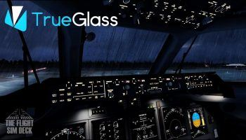 Prepar3D V4 True Glass Is Here TFDI Design 717 200