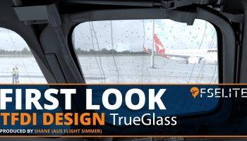 TFDI Design TrueGlass