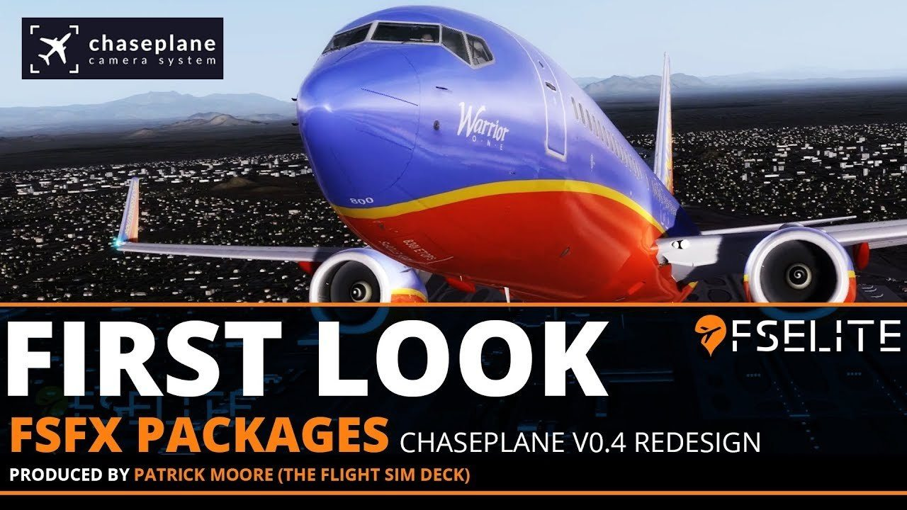 FSElite First Look FSFX Packages ChasePlane V.04 Redesign Beta