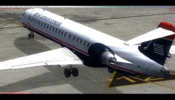 FSX Boxed Virtualcol CRJ. More Fun Than It Looks.