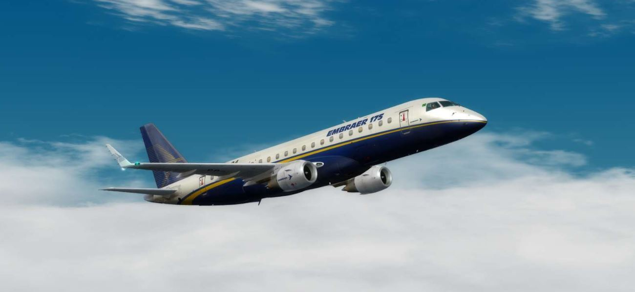 feelthere Embraer E-Jets 175 and 195 Now P3DV4 Compatible