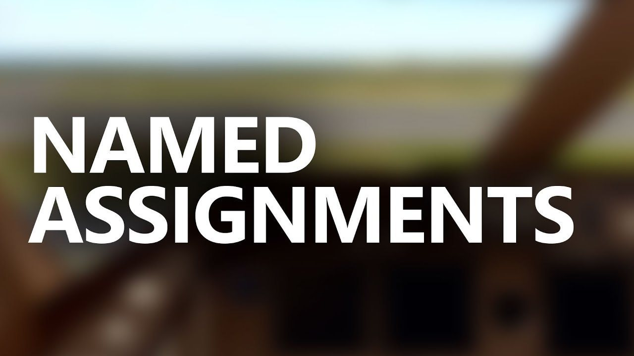 ChasePlane Tutorials Named Assignments
