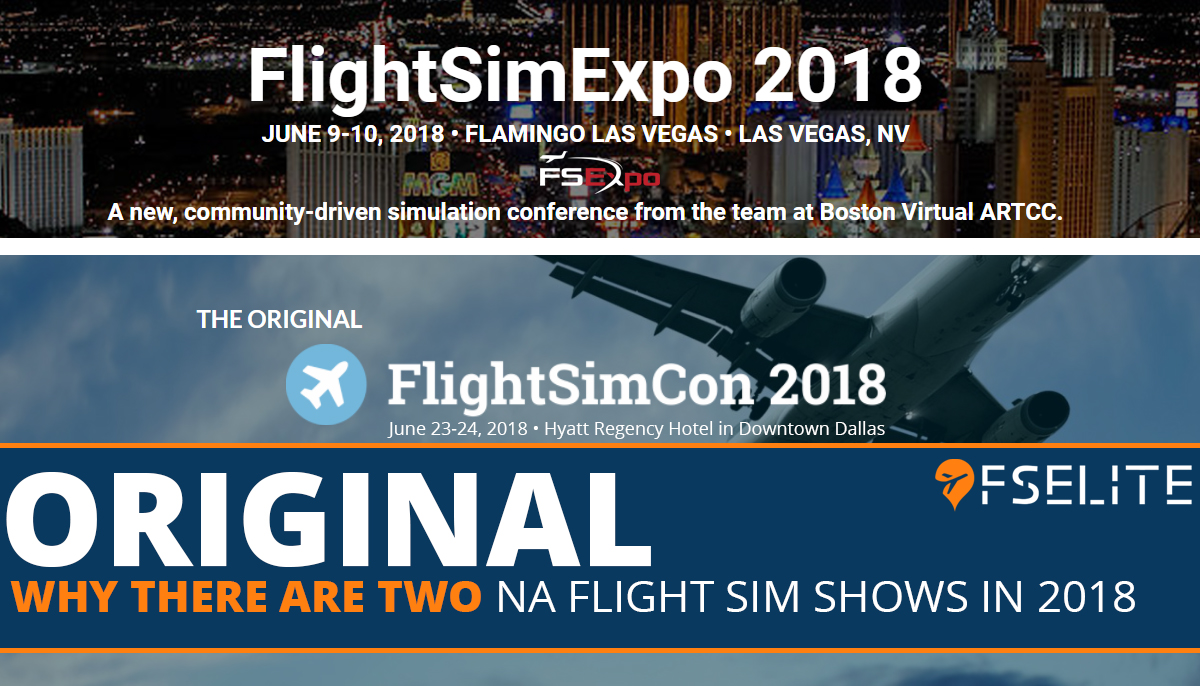 2 Flight Sim Shows