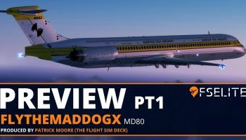 FSElite Preview FlythemaddogX MD80 Beta Preview