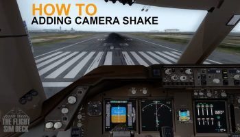 How To Adding Cockpit Camera Shake