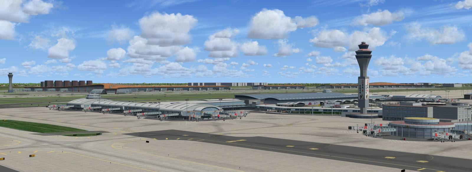 WF Scenery Studio Announce Beijing International Airport For