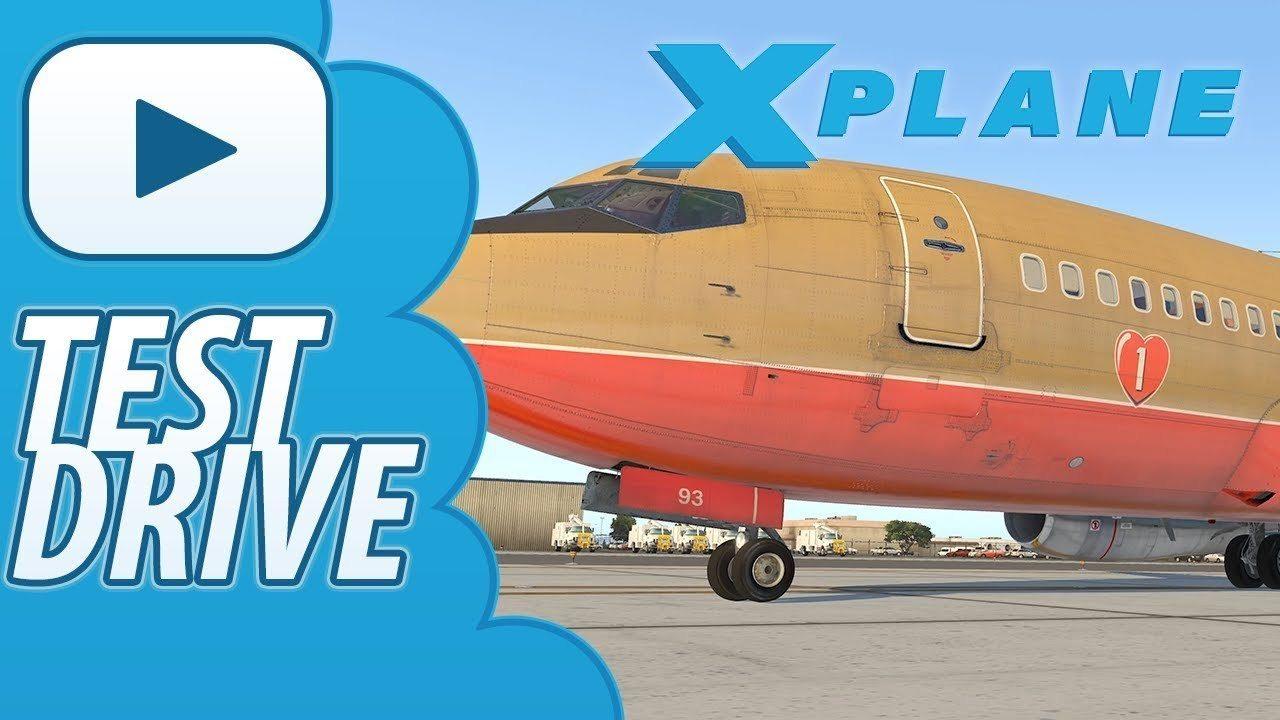Test Drive Xplane 11 FlyJSim 732 TwinJet V3