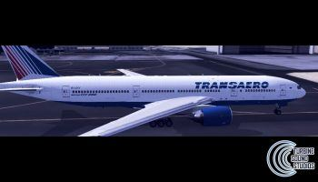 TSS Boeing 777 PW 4090 External Preview. WIP