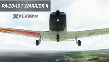 X Plane 11 Pre Release Video Just Flight Piper Warrior II PA 28