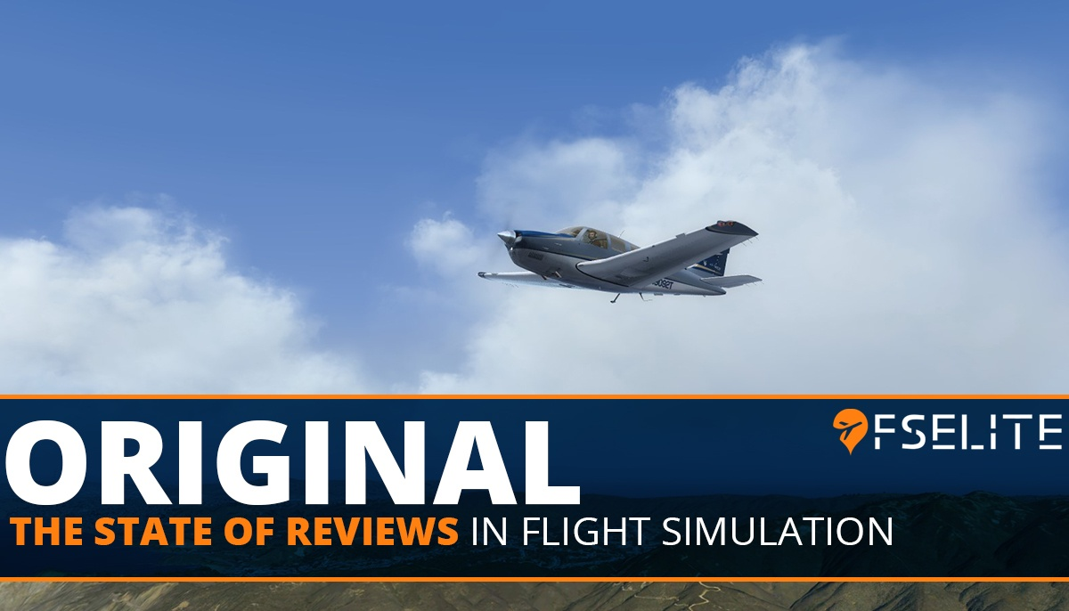ORIGINAL State Of Reviews Flight Sim